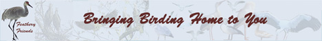 "Banner ""Bringing Birding Home To You"""